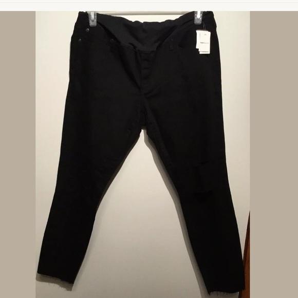 8b72ffa2c6b88 GAP Pants | Women Maternity Black Size 33 Regular | Poshmark